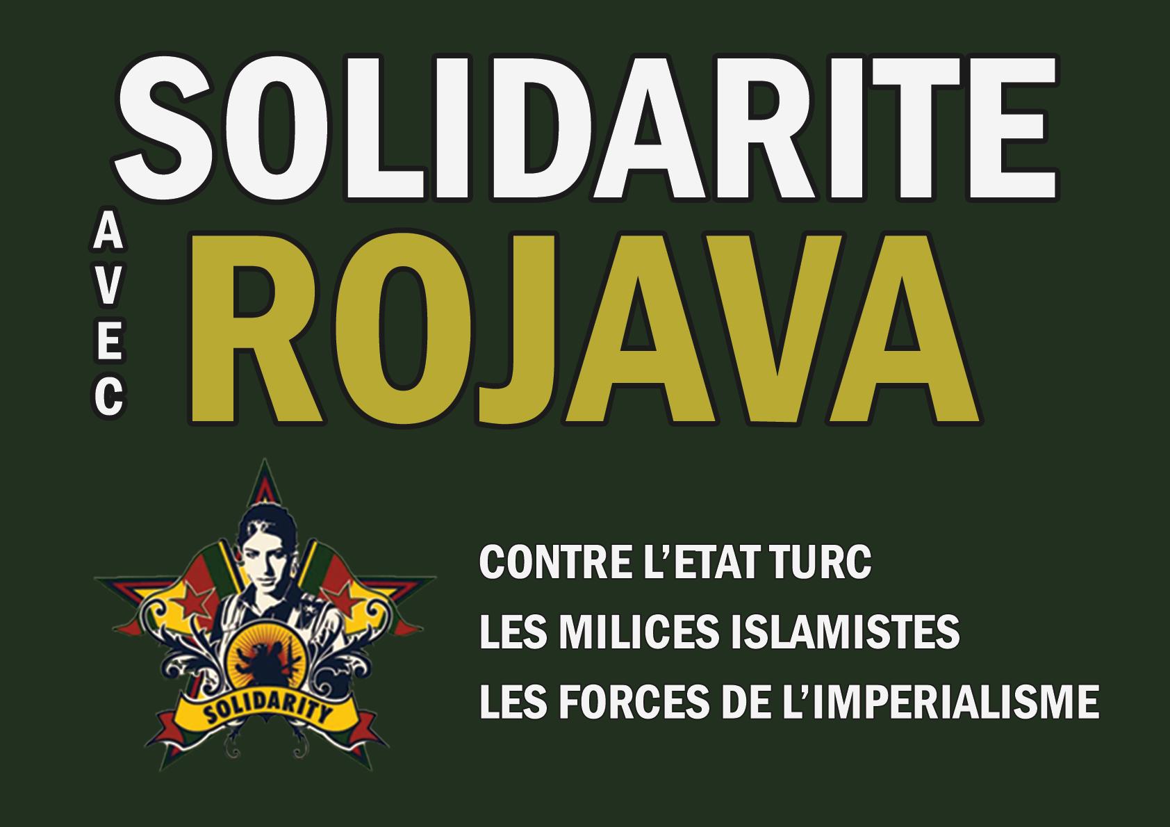 affiche rojava
